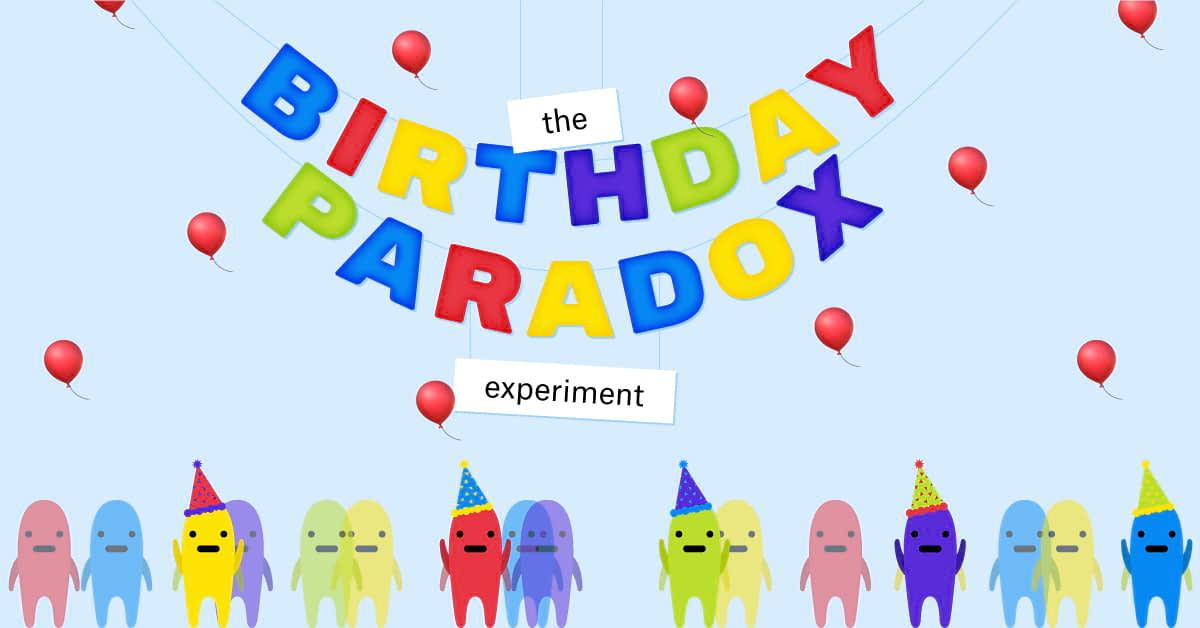 The Birthday Paradox Experiment