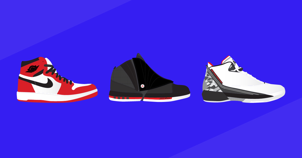 9251c17fd7520 A visual history of every Air Jordan