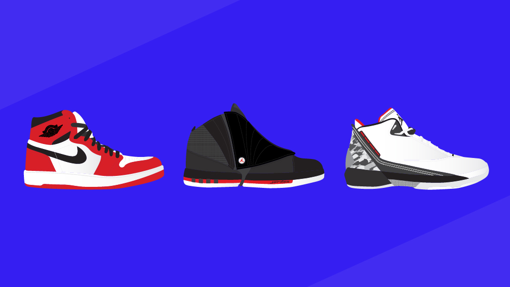 when was the first jordan shoe made
