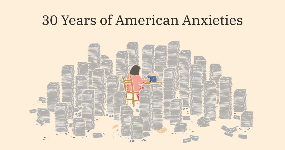 30 Years of American Anxieties