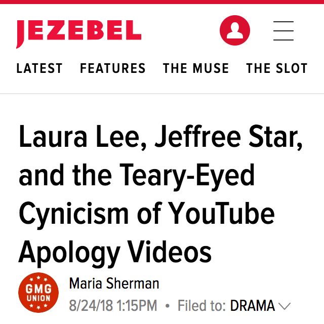 The Aftermath of a YouTube Apology