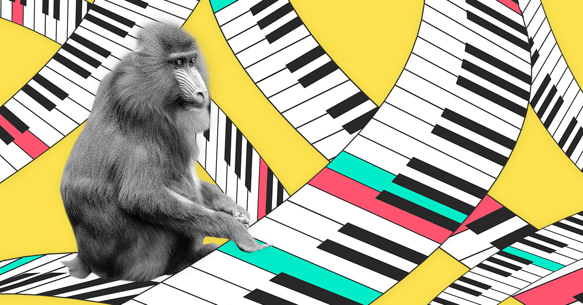 The Infinite Monkey Theorem Experiment