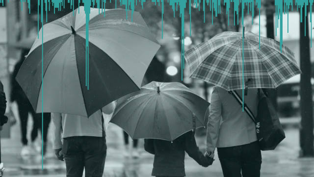 Where will you need your umbrella?