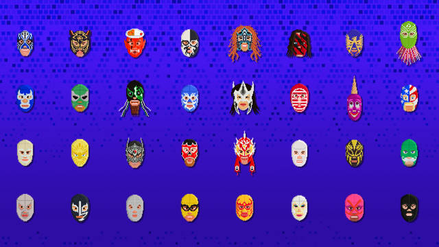 An Illustrated Guide to Masked Wrestlers