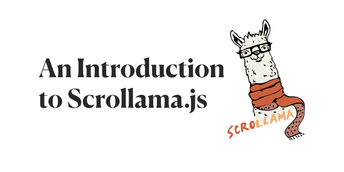 An Introduction to Scrollama js
